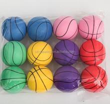 pvc Tinted solid matte green software wholesale children's ocean ball