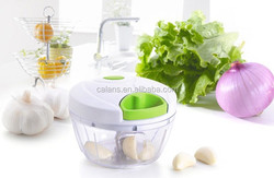 Veggie Chop Hand-Powered Food Chopper, Arugula