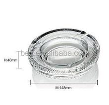 New design popular round crystal ashtray