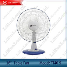 16 inch electric table fan with timer Model FT40-5 detachable base