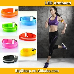 LED Light Strip Armband Bright Safety LED Light for Sports Fashion Flash Armlet in Party Events AB2002