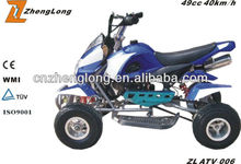 CE certification polaris 50cc quad atv