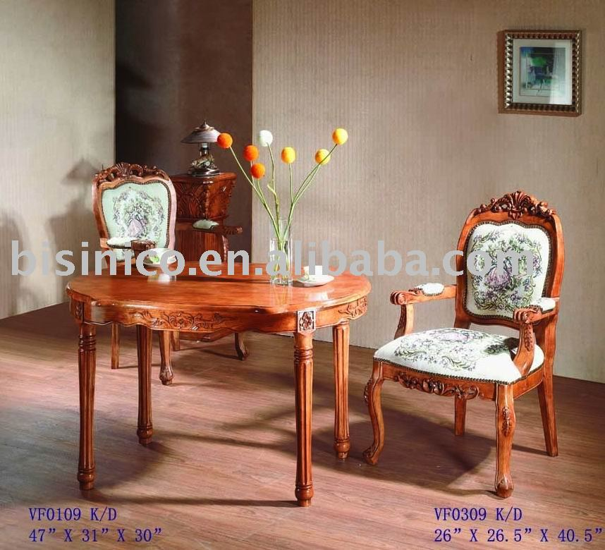 In stile americano sala da pranzo insieme tavolo da pranzo ovale sedia da pranzo sedia del - Mobili per sala da pranzo classici ...