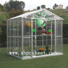 High Quality ISO Bayer outdoor canopy balcony awning design 16 mm polycarbonate sheet opale sun house