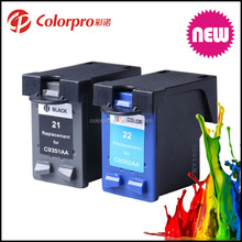 For hp 22 Remanufactured Ink Cartridge for HP 21xl 22xl