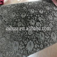 comfortable and high quality embossed velvet for garment and upholstery