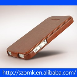 elasticity PU Leather Case /Flip cover For iphone 5