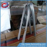 china alibaba hot sale elector galvanzied u type wire