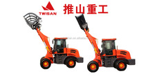 Chinese 2.0 ton mini wheel loader from factory who offer international shipment for all our equipment