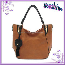 New Promotional 2015 Designer Leather Colombia Handbag Lady Classic Tote Bag