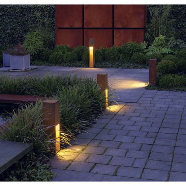 electric garden path lights 3w 12v led path paving light