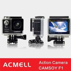 CAMSOY F1 2.0 inch 64GB full hd waterproof helmet sport action camera
