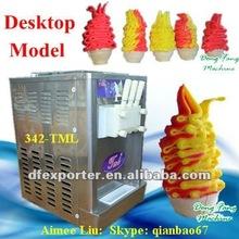China soft ice cream maker with 3 tastes