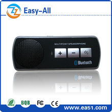 Classical design!!!Bluetooth car kit for cars clip on sun visor receiving calls support dual connection