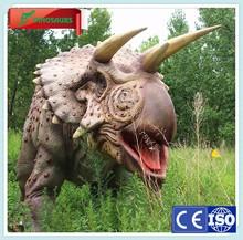 Amusement Park Animatronic Triceratops Dino