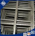 Construção de concreto soldada malha de arame de aço de reforço