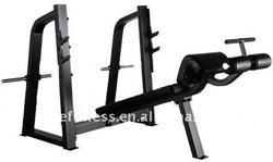 Precor Gym Equipment / Olympic Decline Bench /exercise equipment body strength trainer
