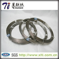 Gr5 Gr2 titanium sterling silver wire for jewelry making