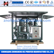 Waste Transformer Oil Regeneration System, Transformer Oil Recycling Machine for Above 110KV insulation oil filtration