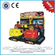 Guangzhou New car racing games for boys tickets arcade games