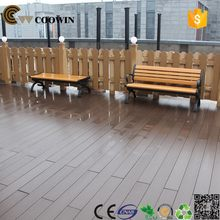 Recycled material exported wpc garden table bench with umbrella