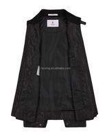 2015 simple design slim fit biker man 100% polyester jacket