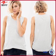LT Grey Sleeveless Ladies New Fashion Casual T Shirt With Wholesale Price