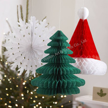 Collapsible tissue paper christmas tree 2015