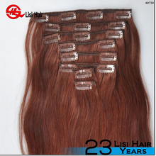 2015 Alibaba Express Brand Name Wholesale Remy Cheap Thick End vietnam clip in hair human hair extensions