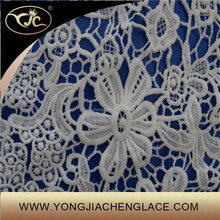 Embroidery indian most fashionable fabric lace wholesale(YJC16531)