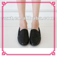 cheap casual spike sexy lady comfort shoes