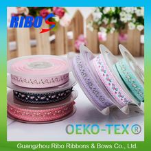Quality Strict Control Colorful Ribbon Embroidery On Dresses