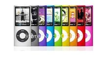 slim 4th gen mp4 32gb 9 Colors for choose Music playing time 30Hours fm radio video player