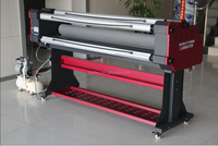 Hot!!! hot!!! hot!!! 100% new and large format hot cold laminator 1600mm width ADL-1600H5+