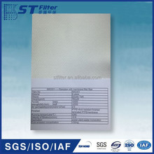fiberglass filter cloth,PTFE+Acid resistant finished laminated PTFE membrane
