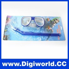 Diving Swimming Set Goggles Snorkeling Cheap Mask and Snorkel Set