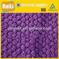 100% polyester brushed tricot shu velveteen fabric