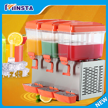 Three tank Juice Dispenser/Used Juice Dispenser Machine/ Orange Juice Dispenser