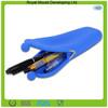 Portable Reusable Cute Folding Silicone Pencil Case for Students