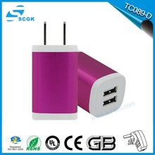 Mobile phone accessories universal travel adapter with usb charger wholesale from Shenzhen factory