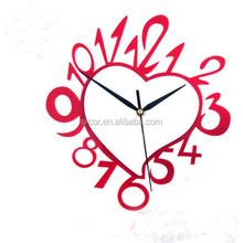 Hot! Wholesale acrylic diy clock China supplier, High quality acrylic diy Wall Clock, Alibaba diy mirror wall clock