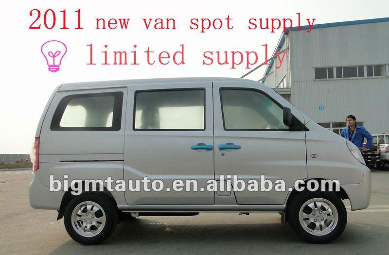 2014 nueva 8 asientos de lujo Mini Van / Euro IV motor estándar oficina Van / barato furgoneta comercial