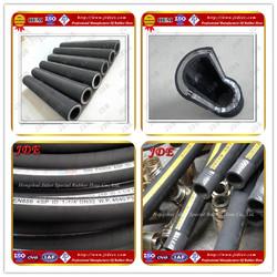 best quliaty steel wire spiral rubber hose DIN EN 856 4 SP