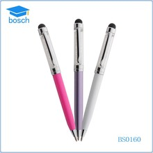 China Factory custom clip pen crystal pen