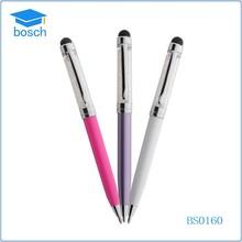 Metal ballpoint pen custom clip pen crystal pen