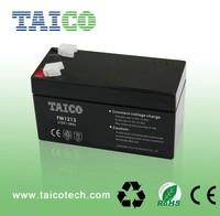 vrla sealed battery 12v 1.3ah energizer toy battery