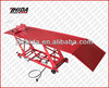 Heavy duty air and hydraulic operated motorcycle lift