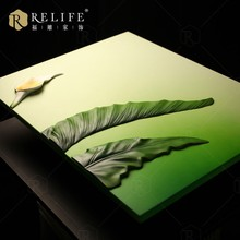 delicate 3d natural scenery wall art
