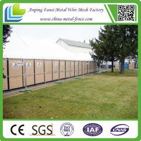 Made in china Removable & Protable Hot dip galvanized yard temporary fence