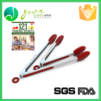 Hot Selling Eco-Friendly Stainless Steel bbq scissor tongs